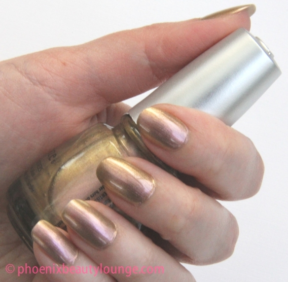 China Glaze Bohemian Swanky Silk Swatch