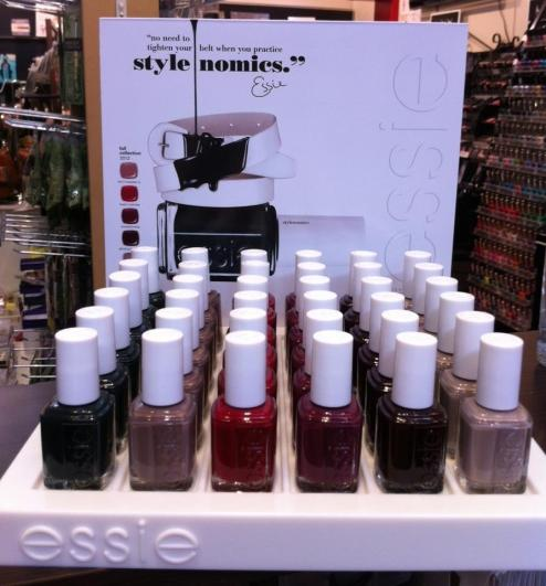 "Buy Essie ""Stylenomics"" Fall 2012 Collection online, buy Essie online"