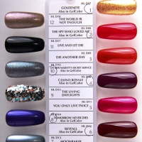OPI Skyfall Collection, preview and swatch