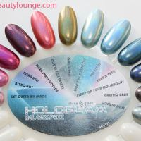 China Glaze Hologlam Collection Swatches