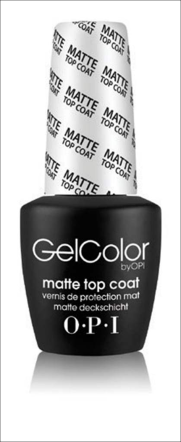 OPI Matte GelColor Top Coat
