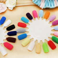 New Nail Art Item: Velvet Flocking Powder