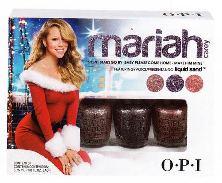 OPI Mariah Carey Mini Trio#1 (Silent Stars Go By, Baby Please Come Home, Make Him Mine) (Liquid Sand)