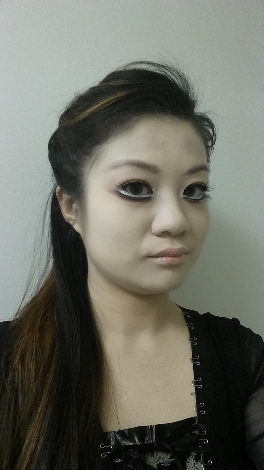 geisha doll halloween makeup look by bubbly aka joyce