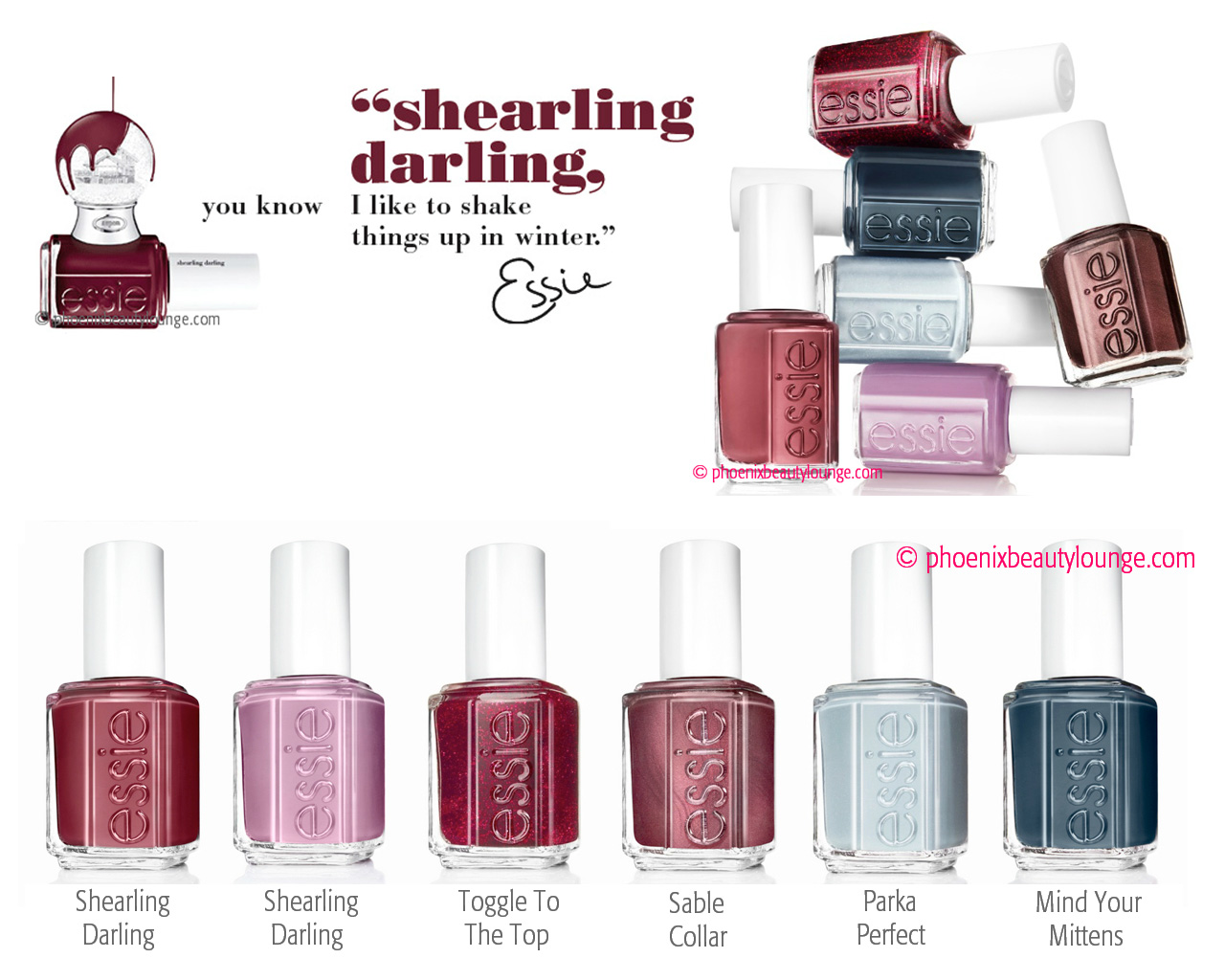 Essie Shearling Darling Collection Winter 2013 (Press Release ...