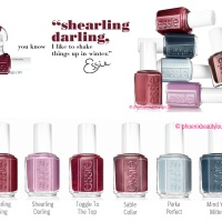 Essie Shearling Darling Collection Winter 2013 (Press Release)