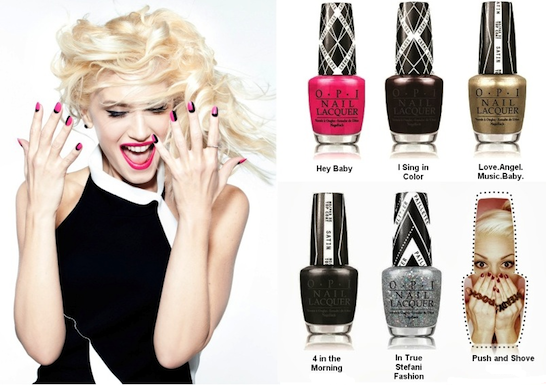 OPI to with Collaborate Gwen Stefani