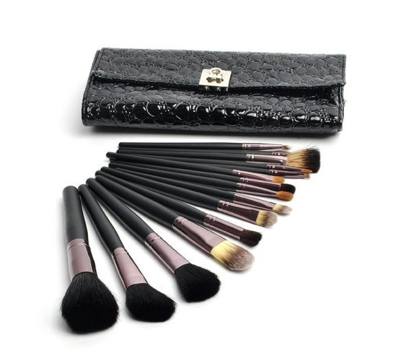 15 Piece Brush Set, Black  #10 Best-Seller
