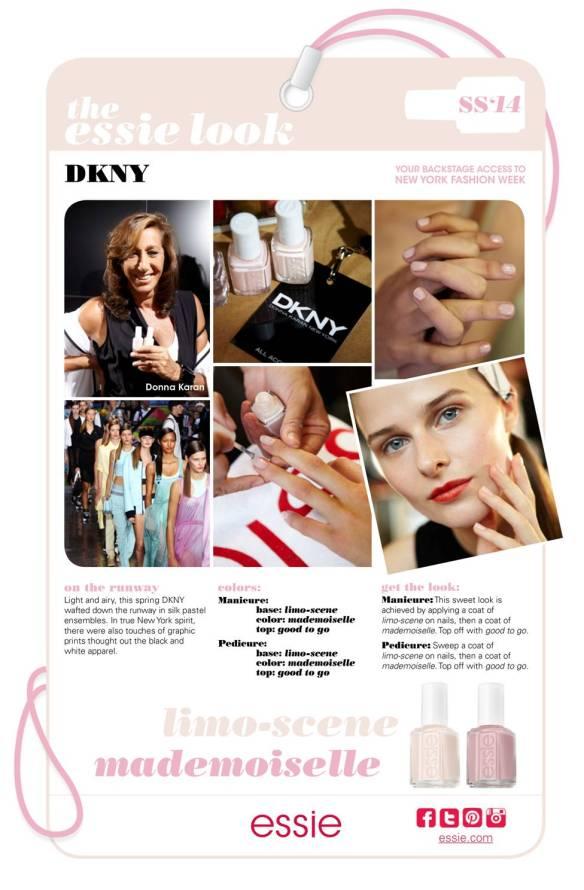 My Essie Look SS2014 NYFW Donna Karan