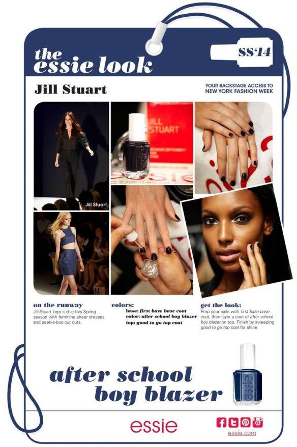 My Essie Look SS2014 NYFW Jill Stuart