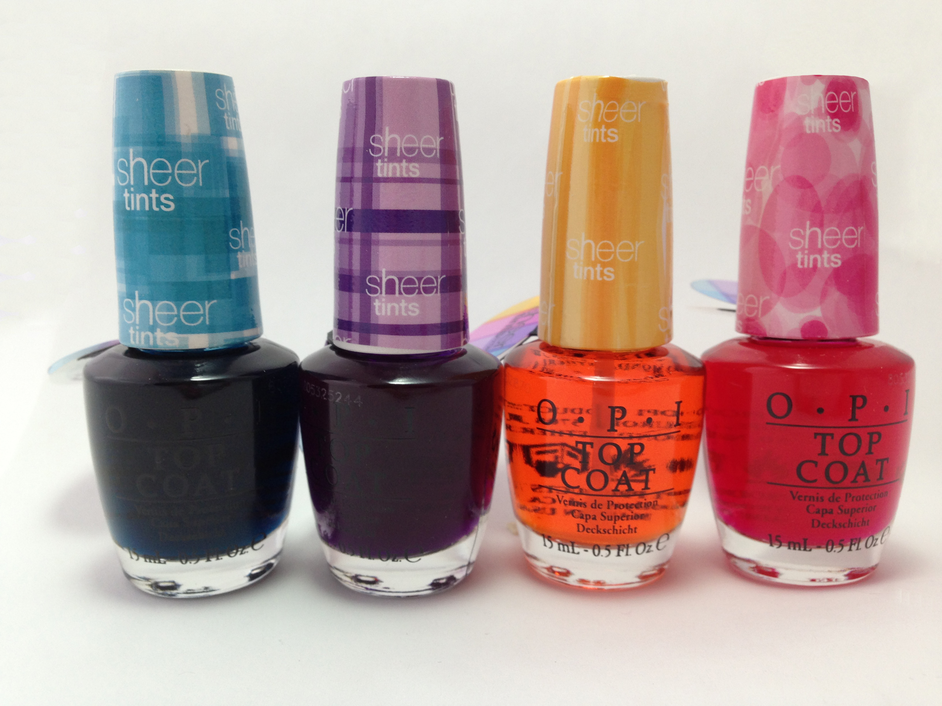 Nail Art Ideas with OPI Sheer Tints | Phoenix Beauty Lounge