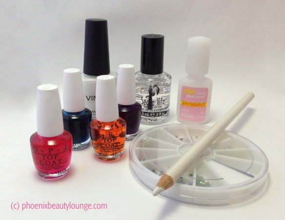 OPI Sheer Tints Watercolor Supplies