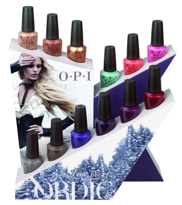 OPI Nordic 12pc Display