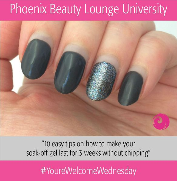 YoureWelcomeWednesday Beauty University Soak off gel tips
