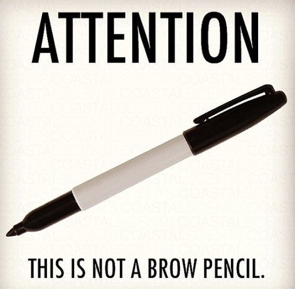 Attention This is not a Brow Pencil