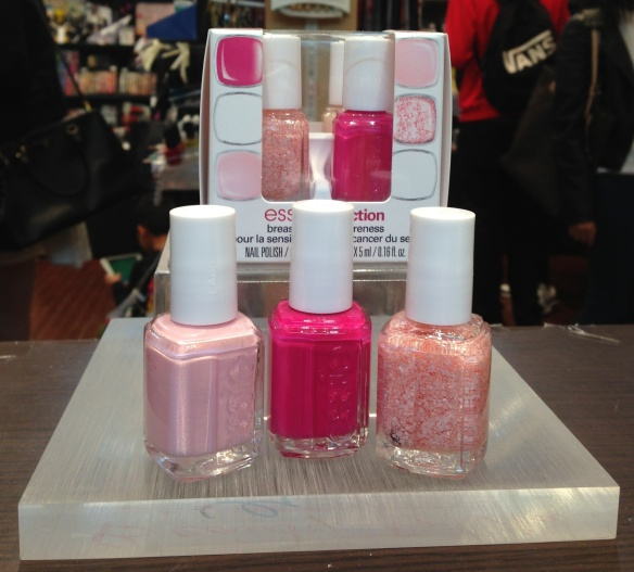 Essie Breast Cancer Awareness Pinking of You 2014