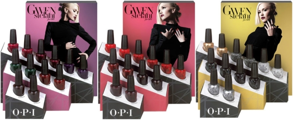 OPI Holiday 2014 Gwen Stefani Display