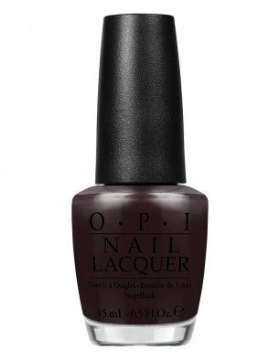 OPI HRF06 Love Is Hot And Coal
