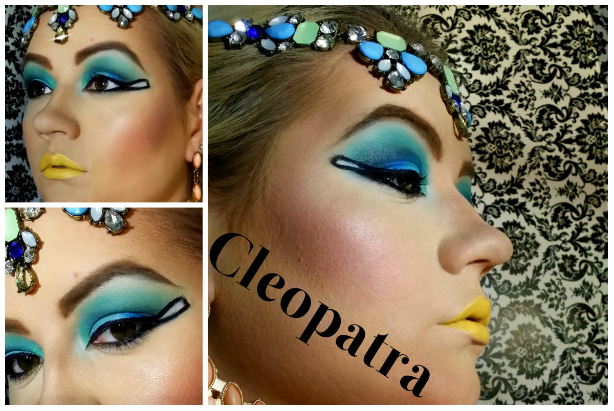 Cleopatra makeup tutorial phoenix beauty lounge cleopatra makeup tutorial for halloween baditri Image collections