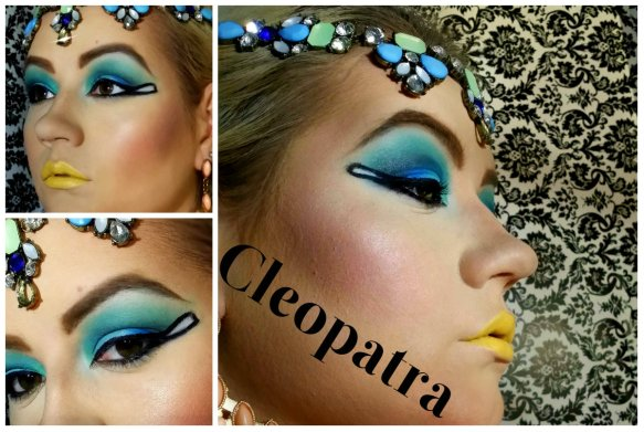 Cleopatra Makeup Tutorial for Halloween