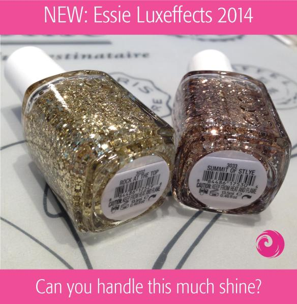 NEW Essie Luxeffects 2014