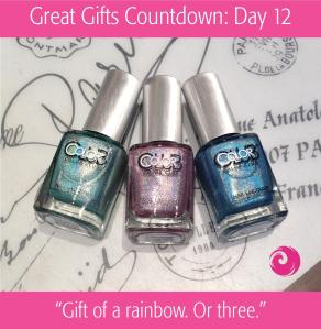 Great Gifts Countdown: Day 12 - Gift of a rainbow. Or three.