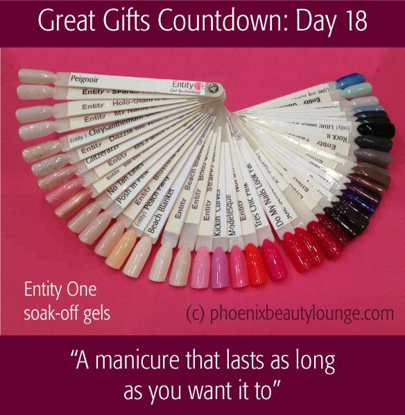 Great Gifts Countdown: Day 18 - A manicure that lasts as long  as you want it to