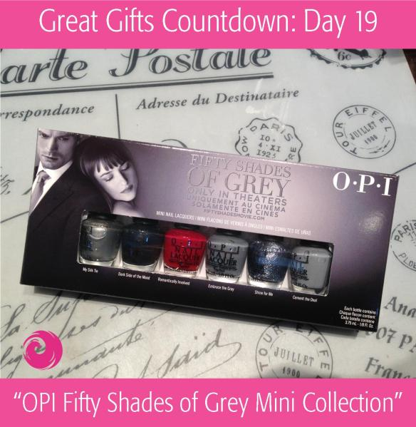 Great Gift Countdown: Day 19 - Fifty Shades of Grey by OPI