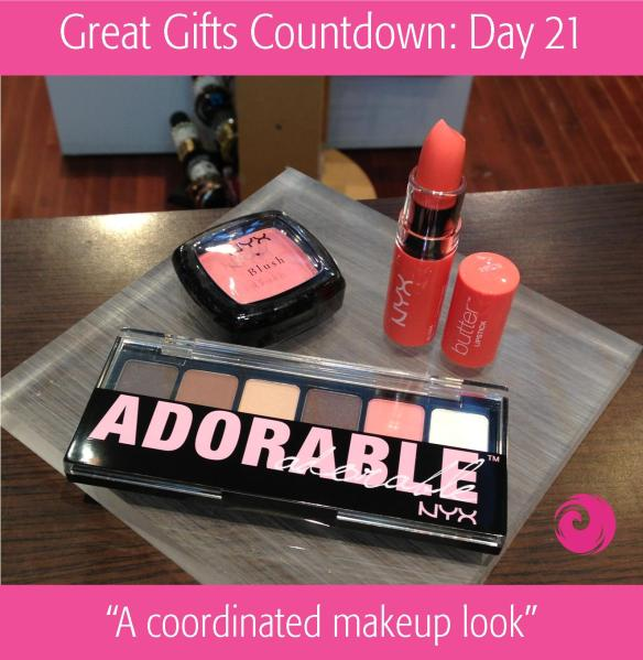Great Gift Countdown: Day 21 - A Coordinated Makeup Look