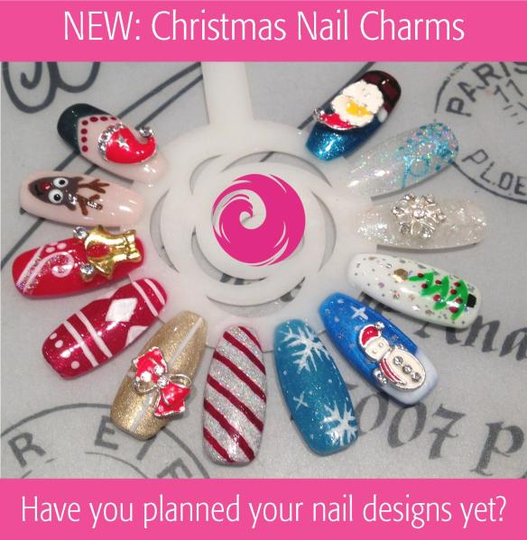 New: Christmas Nail Charms