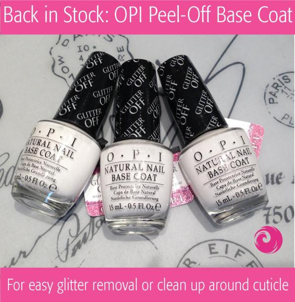 Back in Stock: OPI Peel-Off Base Coat