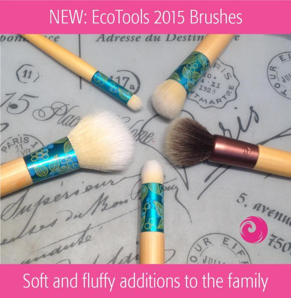 NEW: EcoTools 2015 Brushes