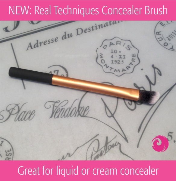 NEW: Real Techniques Concealer Brush