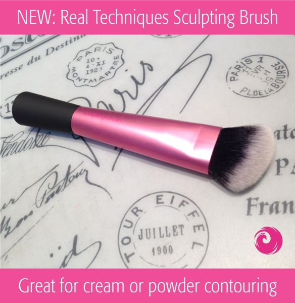New: Real Techniques Sculpting Brush