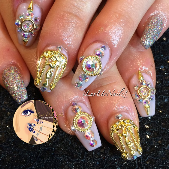 New arrival: high-end nail art
