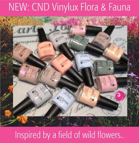NEW: CND Vinylux Flora & Fauna