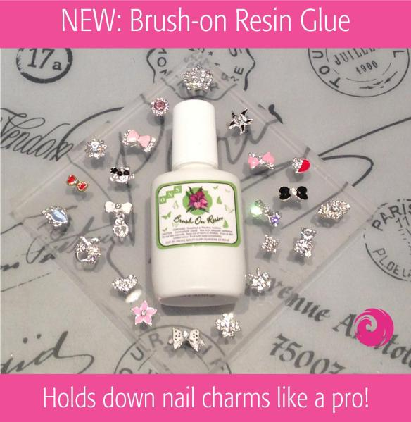 New: Brush-on Resin Glue