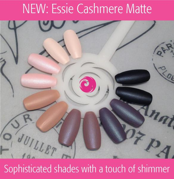 NEW: Essie Cashmere Matte Swatches