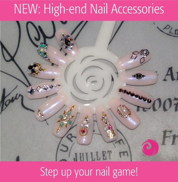 NEW: High-end Nail Accessories