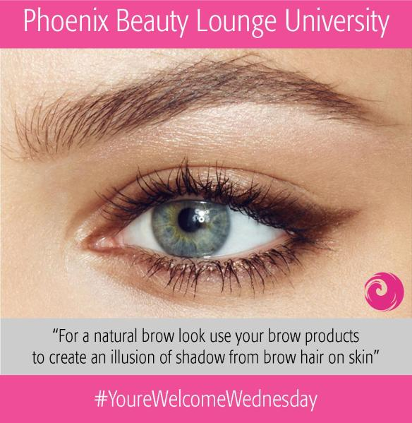 Phoenix Beauty Lounge University: Natural Brows