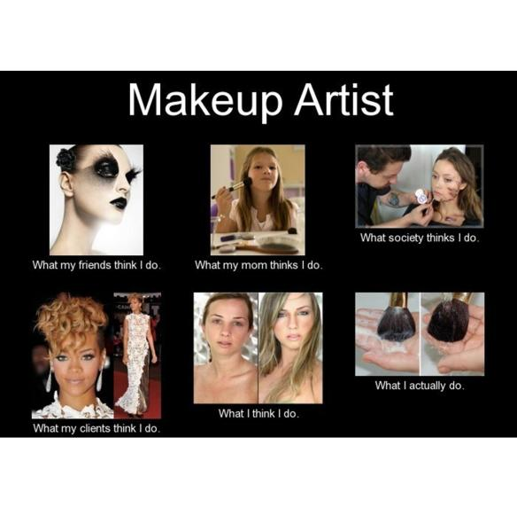 Makeup Artist Perception vs Reality