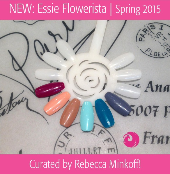 NEW: Essie Spring 2015 Flowerista Collection