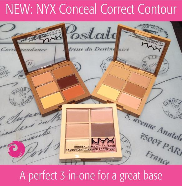 NEW: NYX Conceal Correct Contour