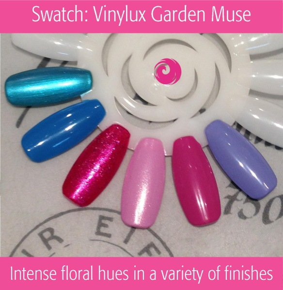 Swatch: Vinylux Garden Muse | Summer 2015