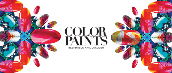 ColorPaints by OPI - Blendable Nail Lacquer - Make a play date with colour