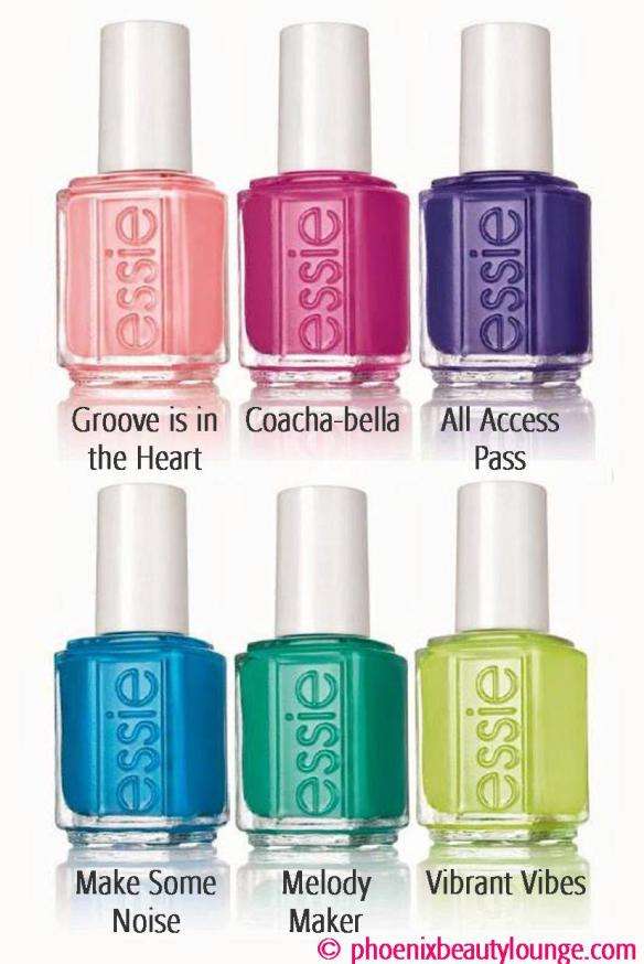 Essie Neon 2015 Summer Nail Polish Collection – Make Some Noise