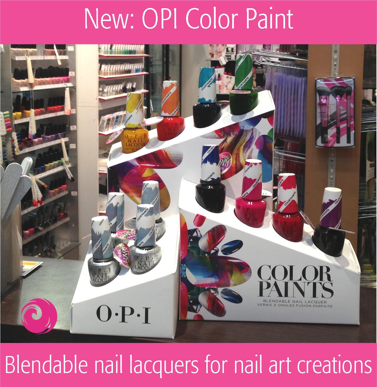 new colorpaints by opi blendable nail lacquer make a play date