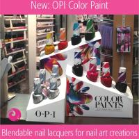New: ColorPaints by OPI Blendable Nail Lacquer - Make a play date with colour!