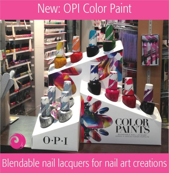 New: OPI Color Paints
