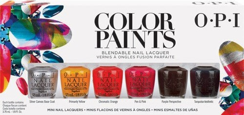 OPI MINI Color Paints, 6 pcs